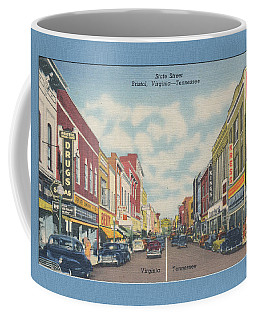 Vintage Va Tn Postcard Kress  Coffee Mug