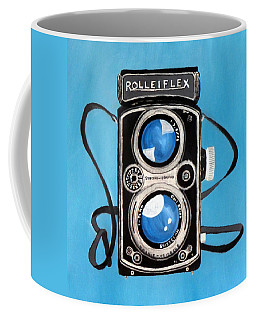 Vintage View Camera Coffee Mug