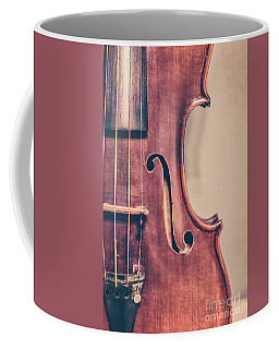 Vintage Violin Portrait 2 Coffee Mug