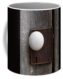 Vintage White Doorknob Coffee Mug by TnBackroadsPhotos