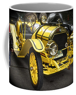 Vintage Yellow Roadster Coffee Mug by Venetia Featherstone-Witty