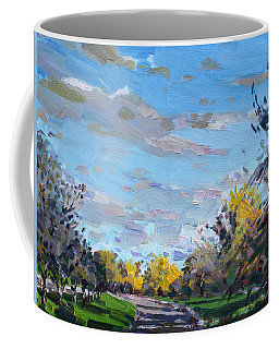 Viola Jogging Coffee Mug