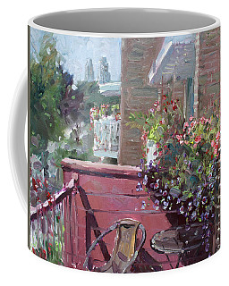 Viola's Balcony Coffee Mug