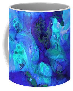 Violet Blue - Abstract Art By Sharon Cummings Coffee Mug