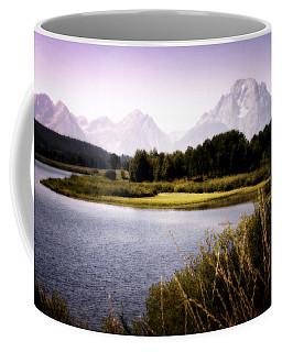 Violet Tetons Coffee Mug