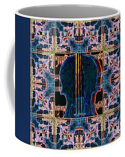 Violin Abstract Window - 20130128v1 Coffee Mug