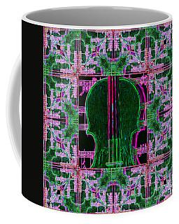 Violin Abstract Window - 20130128v2 Coffee Mug