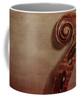Violin Scroll Coffee Mug