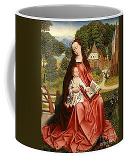 Virgin And Child In A Landscape Coffee Mug