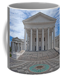Coffee Mug featuring the photograph Virginia Capitol by Jemmy Archer