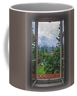 Coffee Mug featuring the photograph Vision Through The Window by Hanny Heim