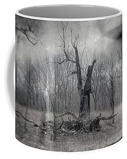 Visitor In The Woods Coffee Mug