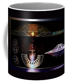 Visitor To Atlantis Coffee Mug by Hartmut Jager