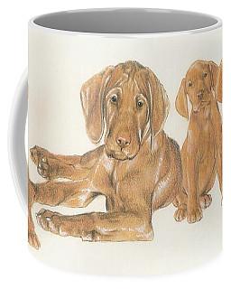 Vizsla Puppies Coffee Mug