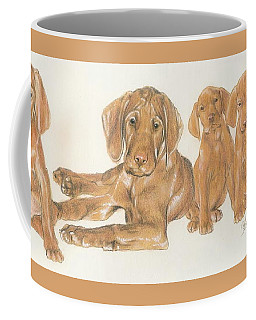 Vizsla Puppies Coffee Mug