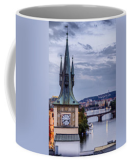 Vltava River In Prague Coffee Mug