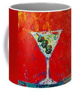 Vodka Martini Shaken Not Stirred - Martini Lovers - Modern Art Coffee Mug