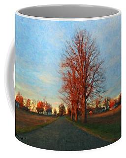 Coffee Mug featuring the painting Voting Season by Lars Lentz