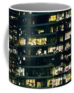 Coffee Mug featuring the photograph Voyeuristic Work Cclxvii by Amyn Nasser