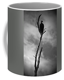 Vulture Silhouette Coffee Mug by Bradley R Youngberg