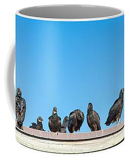 Vultures On Anhinga Trail, Everglades Coffee Mug