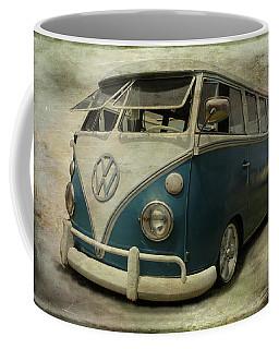 Vw Bus On Display Coffee Mug