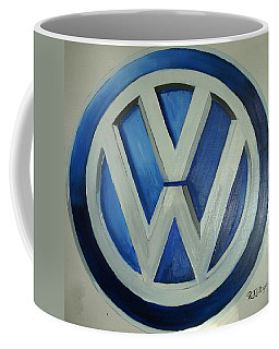 Vw Logo Blue Coffee Mug