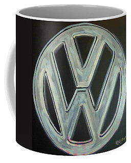 Vw Logo Chrome Coffee Mug