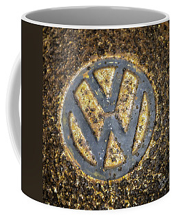 Vw - Volkswagon Hubcap Coffee Mug