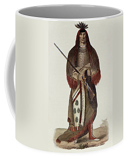 Wa-na-ta Or The Charger, Grand Chief Of The Sioux Or Dakota Indians, Painted 1926, Illustration Coffee Mug