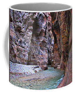 Wadi Mujib Coffee Mug by David Gleeson