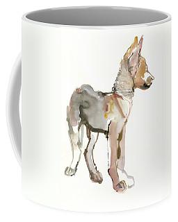 Waggle Arabian Wolf Pup Coffee Mug