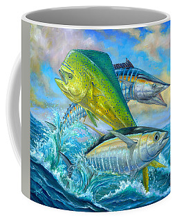 Wahoo Mahi Mahi And Tuna Coffee Mug