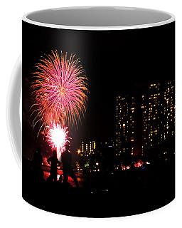 Waikiki Fireworks Coffee Mug