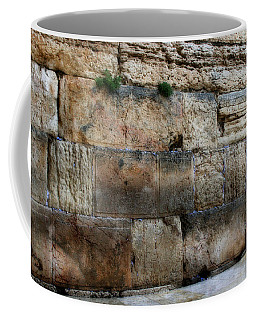 Coffee Mug featuring the photograph Wailing Wall In Israel by Doc Braham
