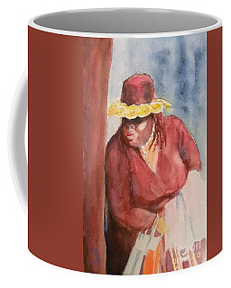Waiting 1 Coffee Mug by Yoshiko Mishina