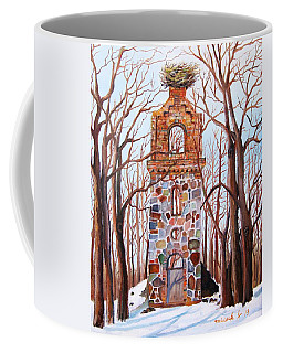 Waiting At Church Ruins  Coffee Mug