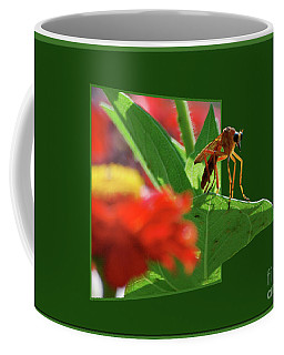 Coffee Mug featuring the photograph Waiting For A Date by Thomas Woolworth