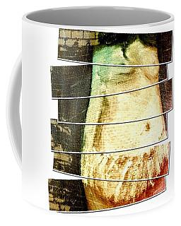 Coffee Mug featuring the digital art Waiting For Baby by Ann Calvo