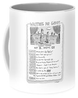 'waiting For Godot' Coffee Mug