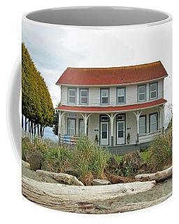 Coffee Mug featuring the photograph Waiting For Guests by E Faithe Lester