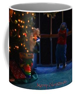 Waiting For Santa - Christmas Card Coffee Mug