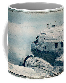 Waiting For Take Off Coffee Mug by Steven Bateson