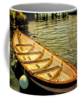 Coffee Mug featuring the photograph Waiting For The Fisherman by Wallaroo Images