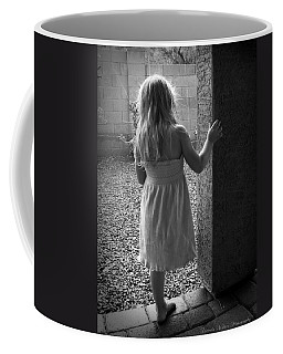 Coffee Mug featuring the photograph Waiting For The Rain To End  by Lucinda Walter