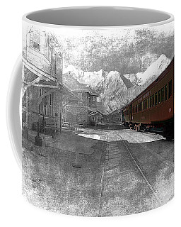 Coffee Mug featuring the photograph Waiting For The Take Off by Gunter Nezhoda
