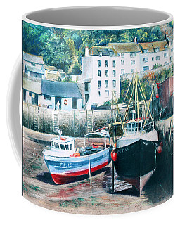 Waiting For The Tide Coffee Mug by Rosemary Colyer