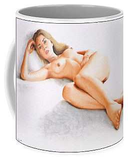 Waiting Coffee Mug by Joseph Ogle