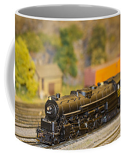 Waiting Model Train  Coffee Mug