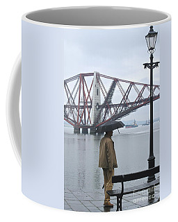 Coffee Mug featuring the photograph Waiting On High Street by Suzanne Oesterling